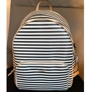 Guess elize striped backpack